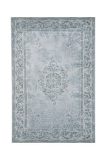 Divine Light Blue & Turquoise Rug