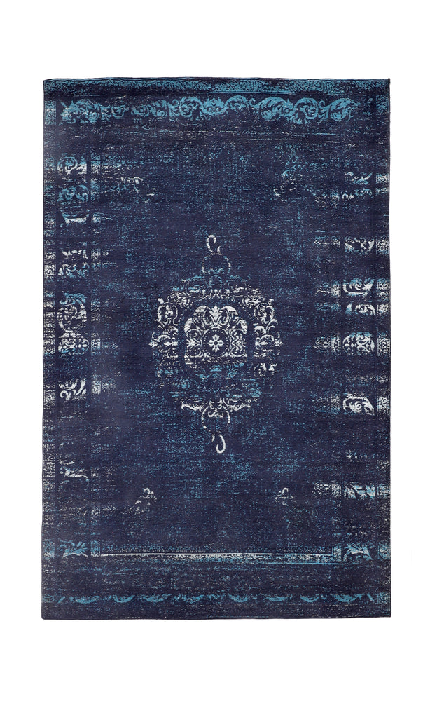 Load image into Gallery viewer, Divine Deep Blue Rug