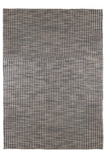 June Grey and Ivory Patterned Rug