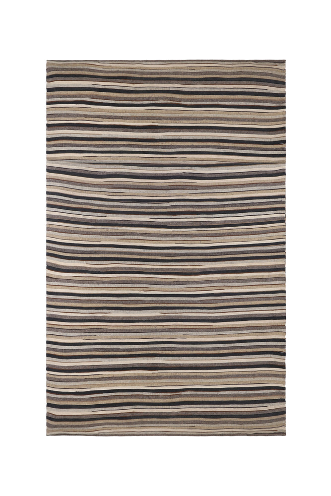 Georgina Neutral Striped Rug (Sizes Available)