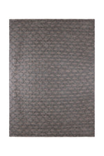 Layla Grey Diamond Patterned Rug