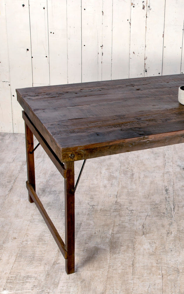 Natural Wood Dining Table - 210cm