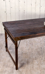 Natural Wooden Dining Table - 210cm