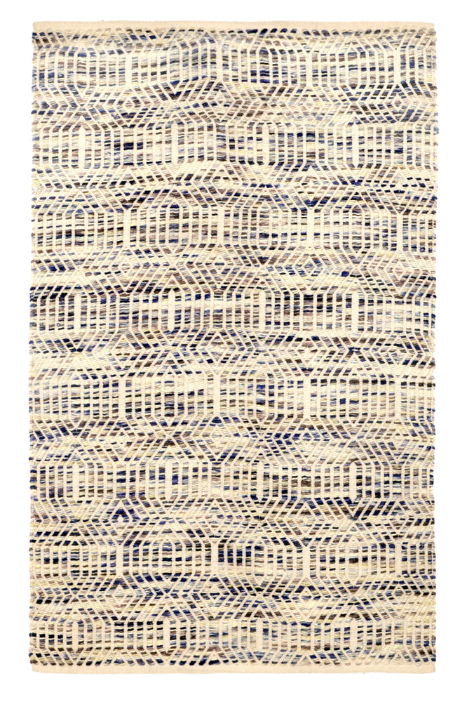 Sea & Sky Woven Patterned  Rug