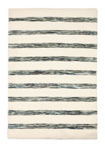 Forest Woven Stripe Patterned Rug