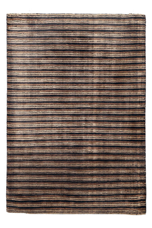 Elise Brown Striped Rug