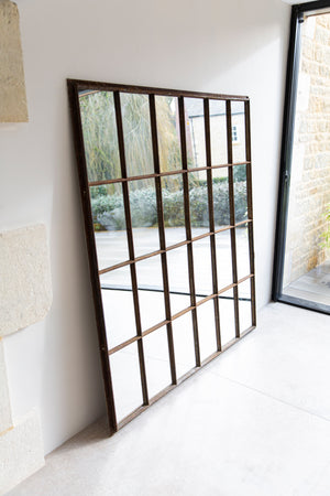 William Rectangular Crittall Mirror - 154 x 170cm