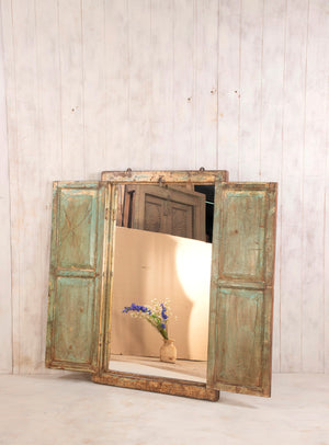 Wooden Window Mirror - Large No 5