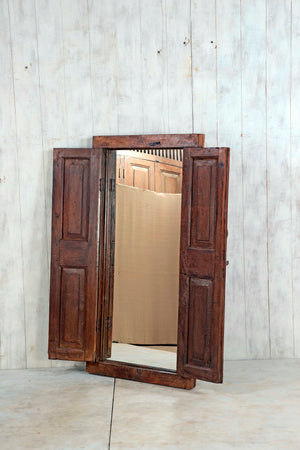 Wooden Window Mirror - Large No 101