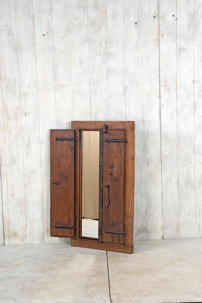 Wooden Window Mirror - Large No 106