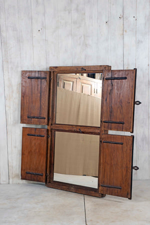 Wooden Window Mirror - Large No 109