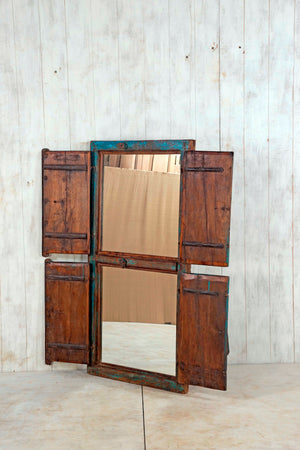 Wooden Window Mirror - Large No 121