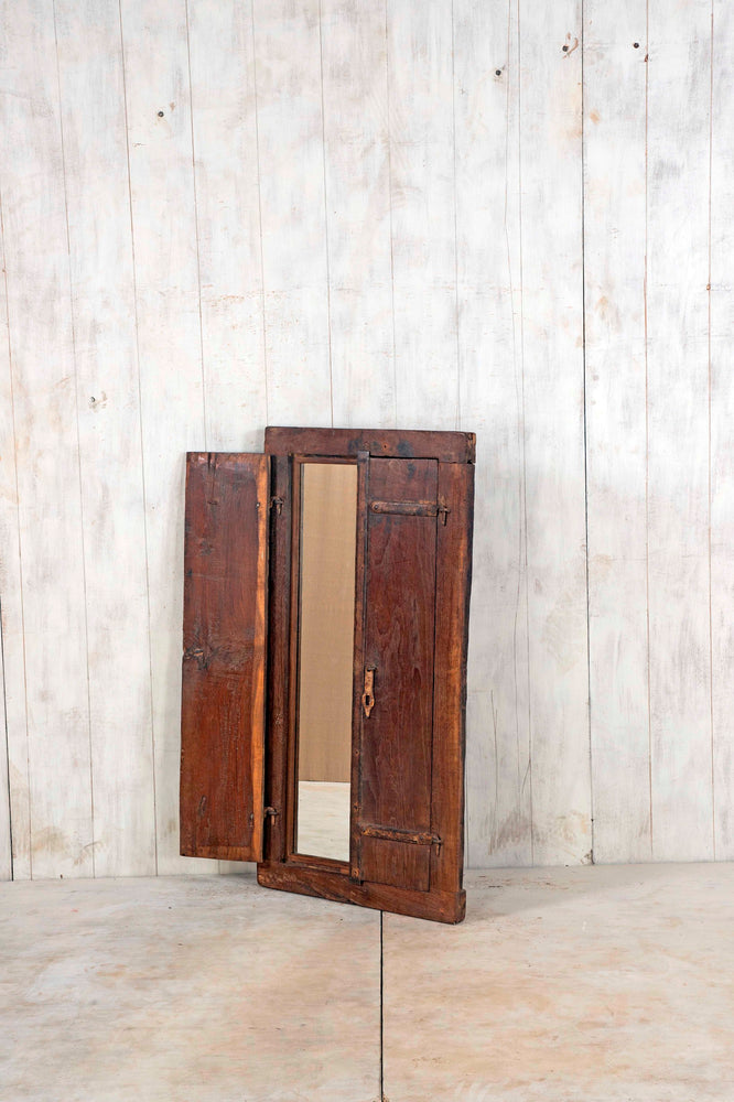 Wooden Window Mirror - Large No 128
