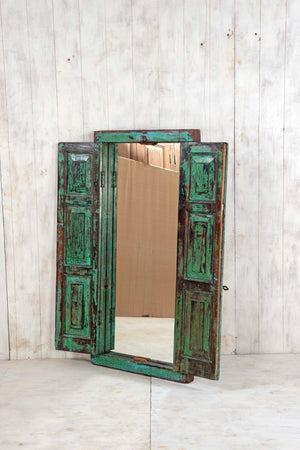 Wooden Window Mirror - Large No 135