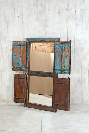 Wooden Window Mirror - Large No 138