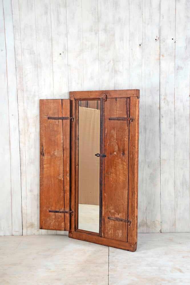 Wooden Window Mirror - Large No 145
