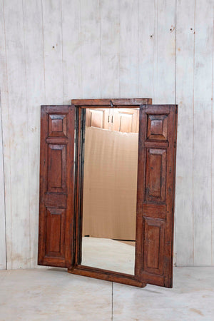 Wooden Window Mirror - Large No 148