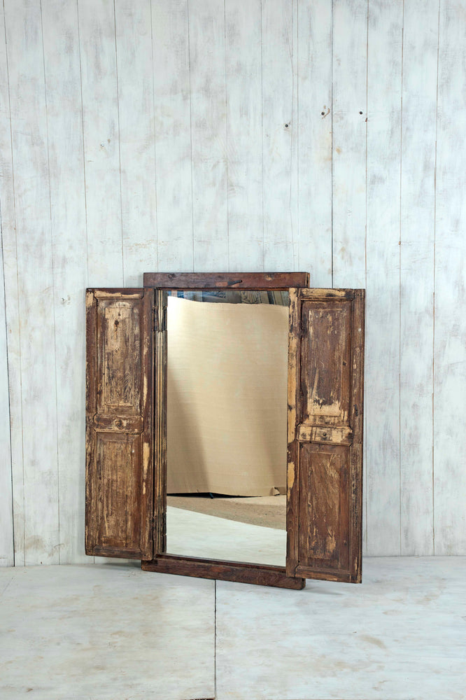 Wooden Window Mirror - Large No 152
