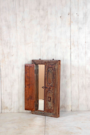 Wooden Window Mirror - Large No 154