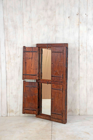 Wooden Window Mirror - Large No 157