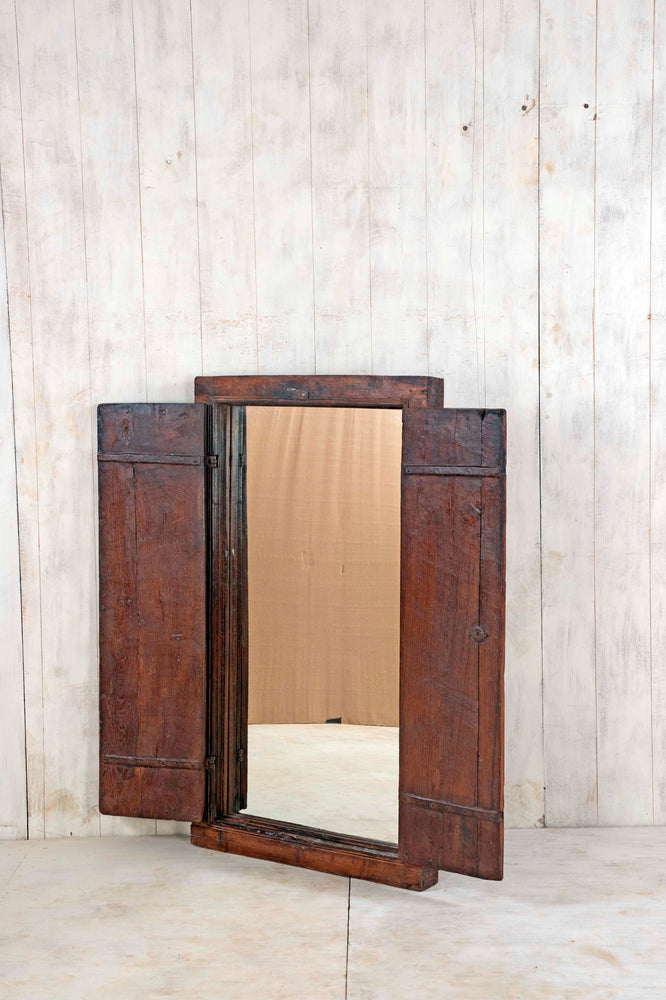 Wooden Window Mirror - Large No 158