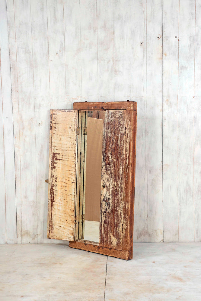 Load image into Gallery viewer, Wooden Window Mirror - Large No 163