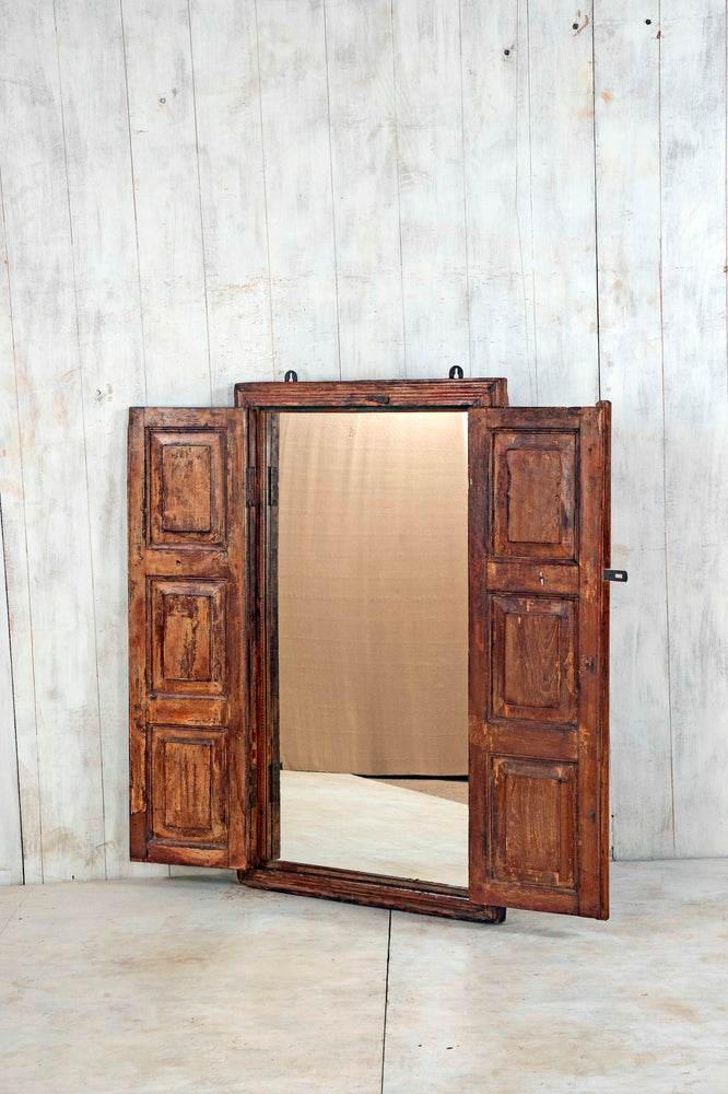 Wooden Window Mirror - Large No 175