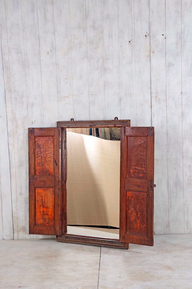 Wooden Window Mirror - Large No 179