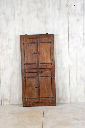 Wooden Window Mirror - Large No 182