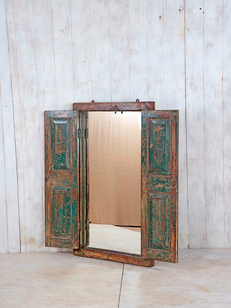 Load image into Gallery viewer, Wooden Window Mirror - Large No 188