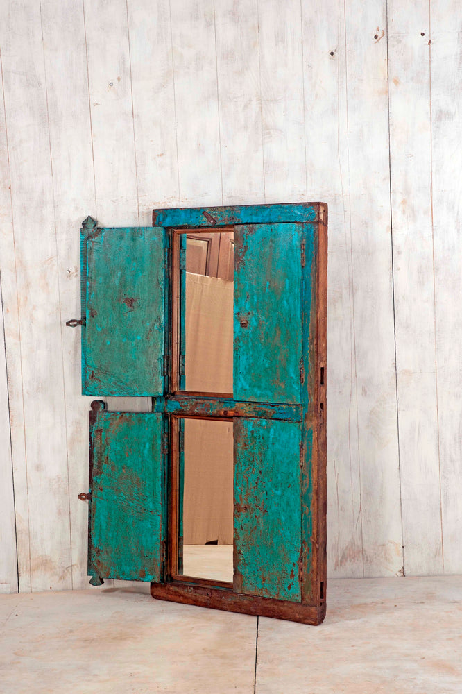 Wooden Window Mirror - Large No 189