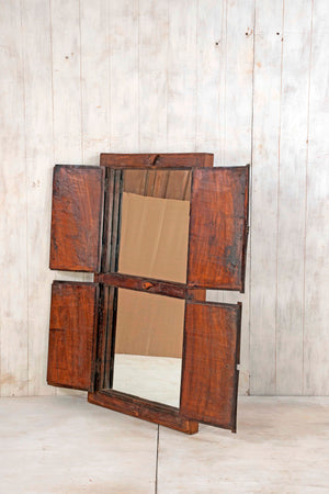 Wooden Window Mirror - Large No 196