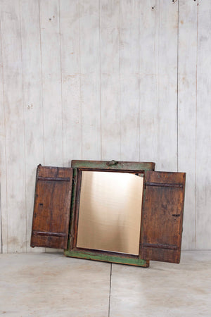 Wooden Window Mirror - Small No 212