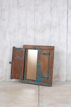 Wooden Window Mirror - Small No 218
