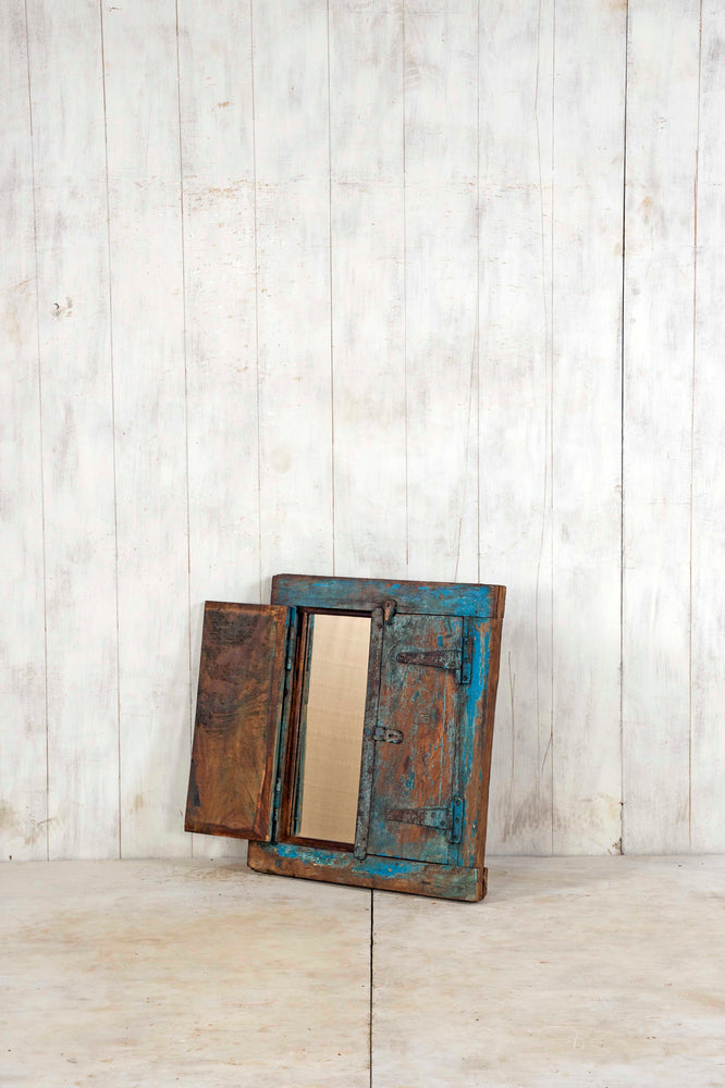 Wooden Window Mirror - Small No 224