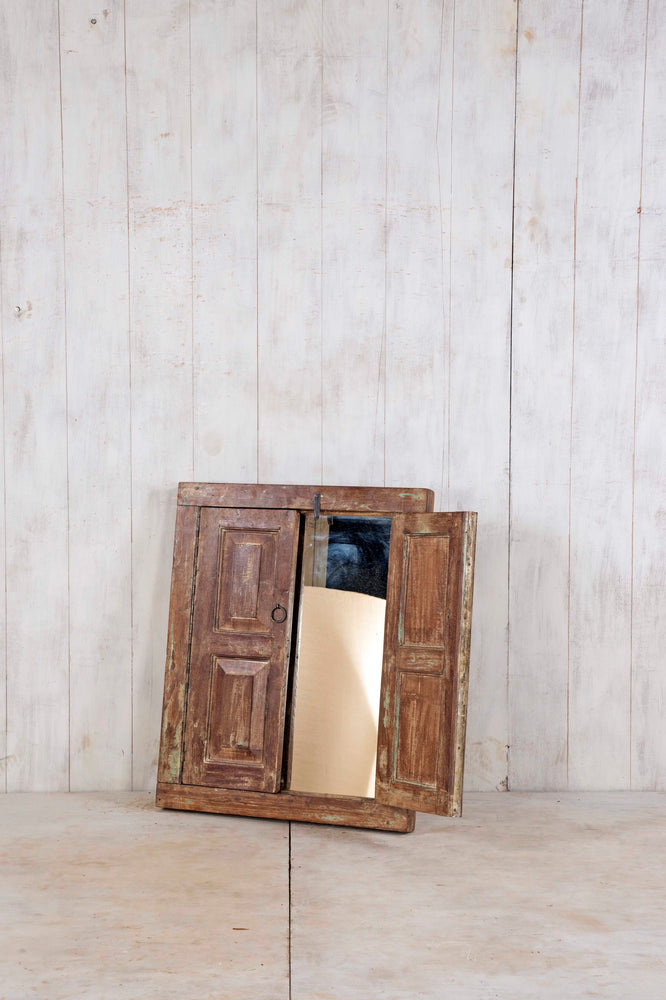 Load image into Gallery viewer, Wooden Window Mirror - Small No 225
