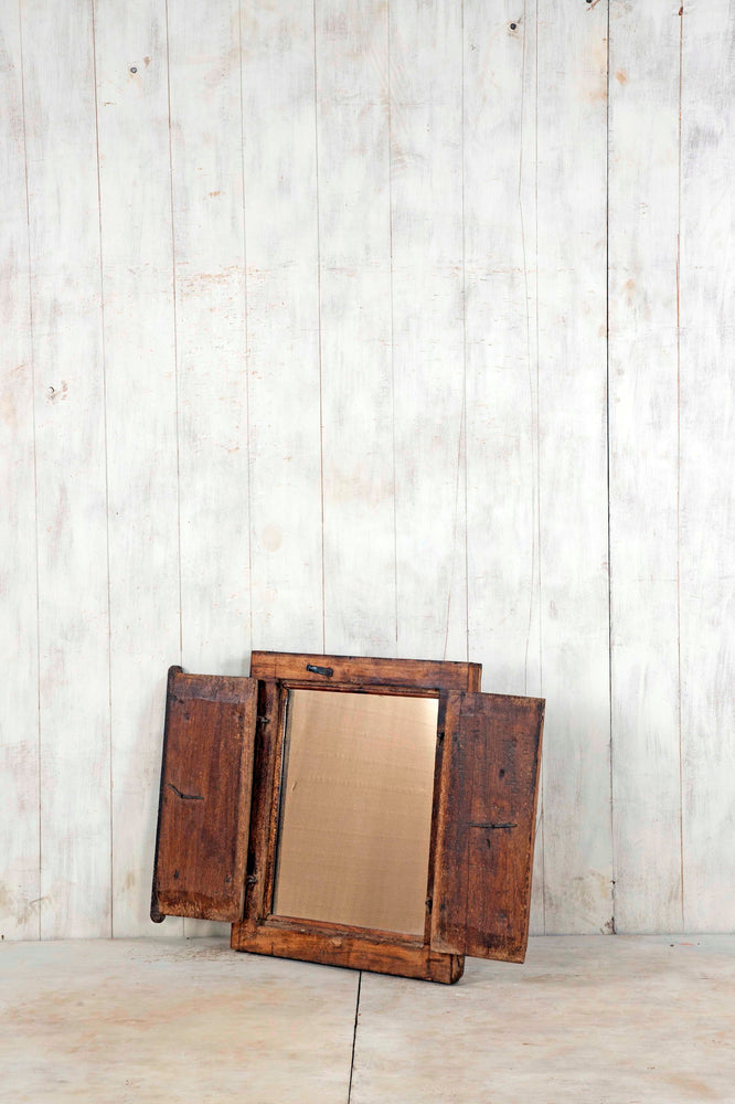 Load image into Gallery viewer, Wooden Window Mirror - Small No 226