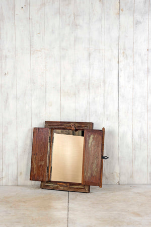 Load image into Gallery viewer, Wooden Window Mirror - Small No 227