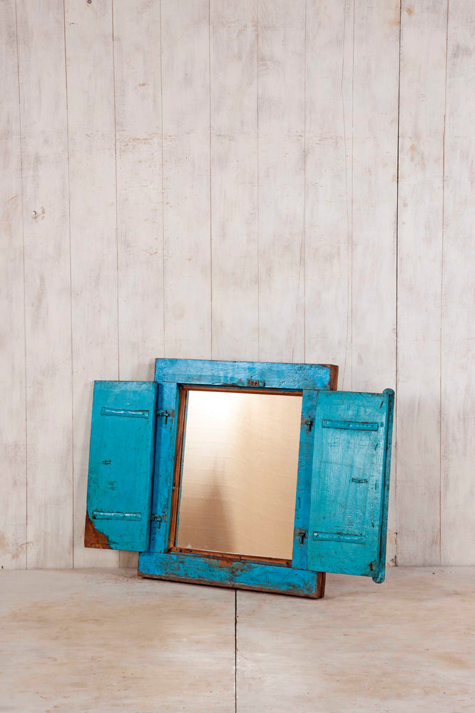 Wooden Window Mirror - Small No 229