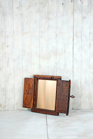 Load image into Gallery viewer, Wooden Window Mirror - Small No 231