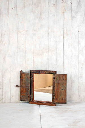 Wooden Window Mirror - Small No 232
