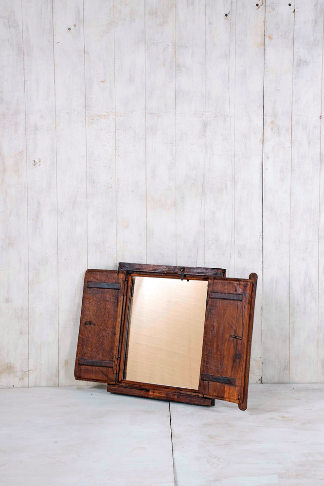 Load image into Gallery viewer, Wooden Window Mirror - Small No 233