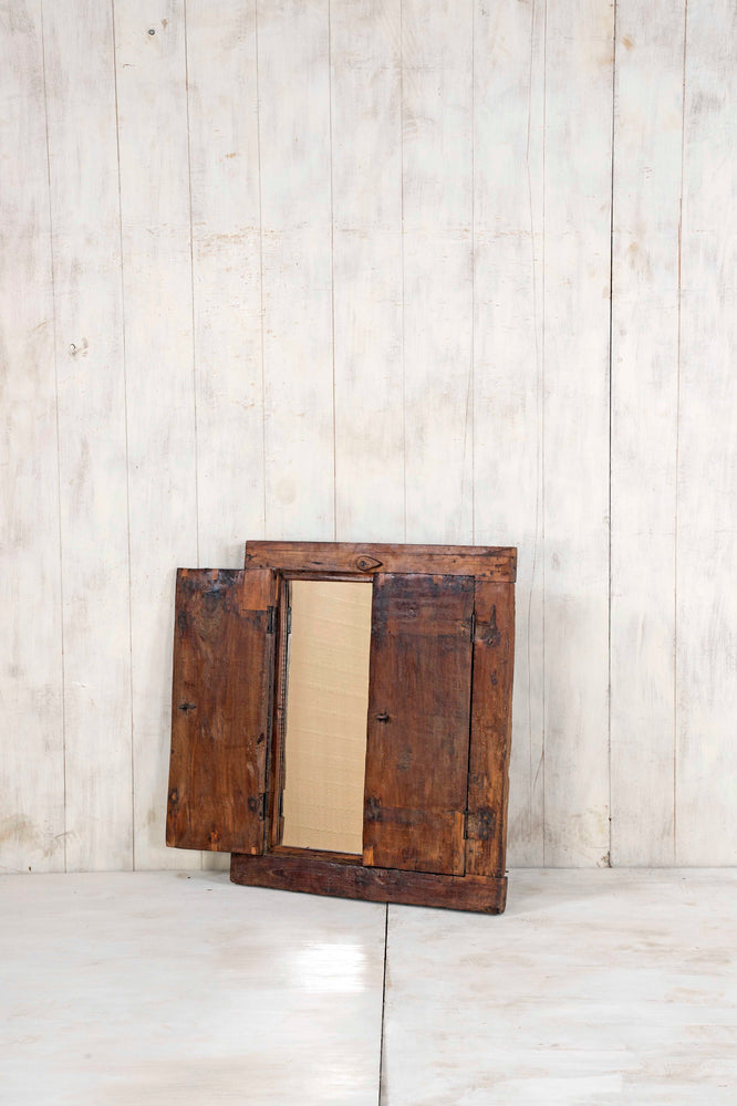 Load image into Gallery viewer, Wooden Window Mirror - Small No 238