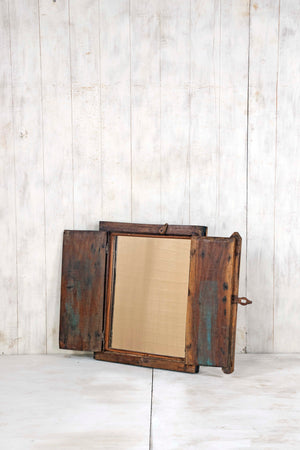 Wooden Window Mirror - Small No 239