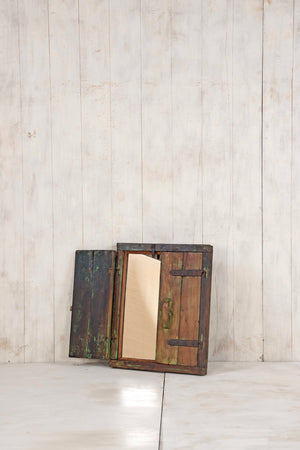 Load image into Gallery viewer, Wooden Window Mirror - Small No 241