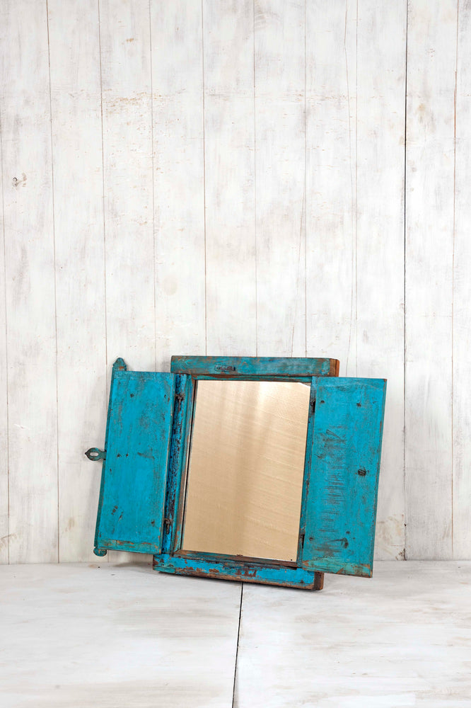 Wooden Window Mirror - Small No 242