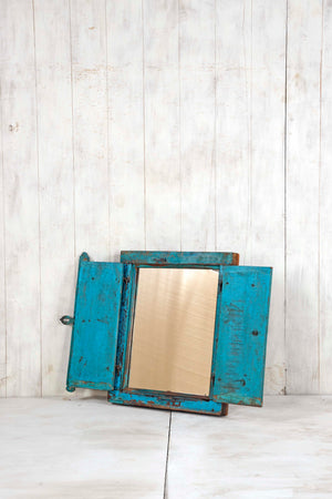 Load image into Gallery viewer, Wooden Window Mirror - Small No 242