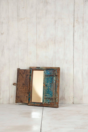 Wooden Window Mirror - Small No 247