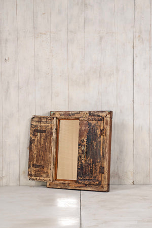 Wooden Window Mirror - Small No 248
