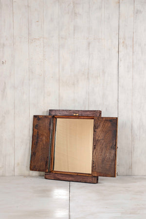 Wooden Window Mirror - Small No 249